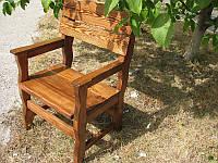 Деревянные барные стулья, садовы стулья для кафе 660х300 от производителя для дачи, кафе Wooden chair - 06
