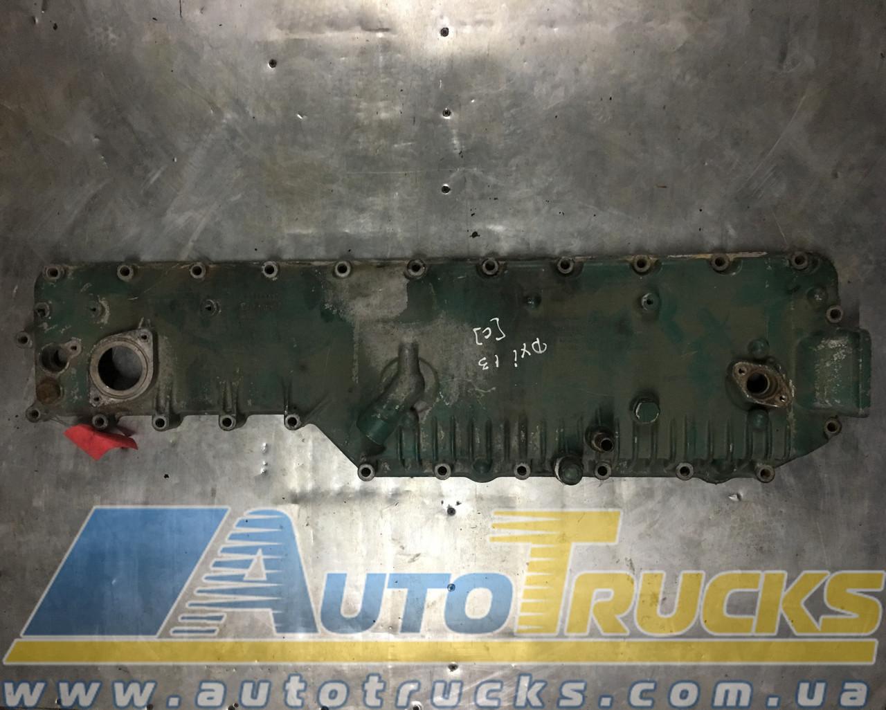 Детали двигателя Крышка теплообменника Б/у для Renault Magnum DXI E-5,  VOLVO FH13 (21508091, 7421121525, 7421508091, 21121525)
