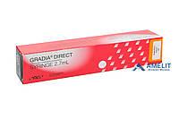 Градиа Дайрект CVD (Anterior, Posterior, Gradia Direct, GC), шприц 4г, фото 1