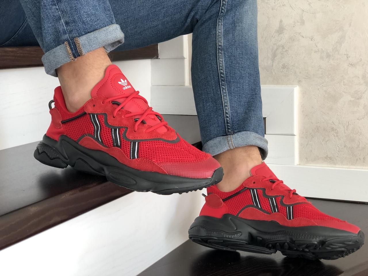 Чоловічі кросівки Adidas Ozweego TR (червоні) - весна-осінь