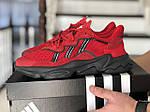 Чоловічі кросівки Adidas Ozweego TR (червоні) - весна-осінь, фото 3