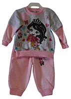 Костюм для девочек от 6-9-12 мес. Детская одежда оптом Турция.