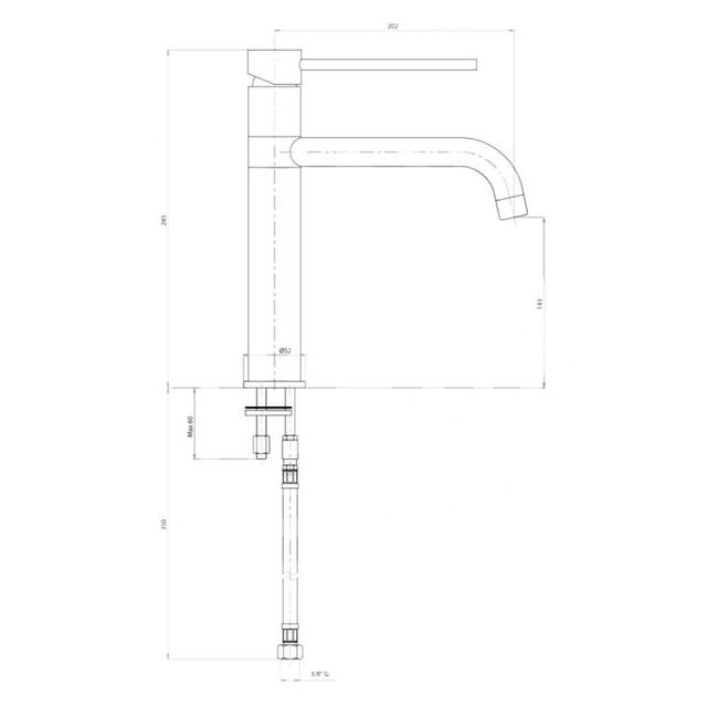 Кухонний змішувач Bianchi Style LVMSTY2000ACRM