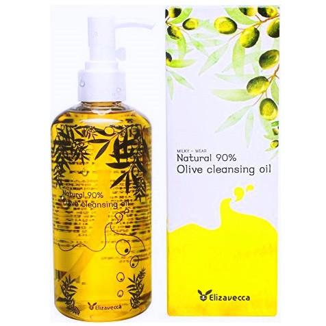 Гидрофильное масло Elizavecca Natural 90% Olive cleansing oil