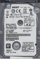 """Накопитель HDD 2.5"""" SATA  500Gb Hitachi, 8Mb, 5400rpm, Z5K500 (HTS545050A7E680, 0J38065) Refurbished"""