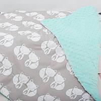"""Детский плед для новорожденных и детей до 3 лет, конверт - одеяло плед на выписку """"Мими"""", 80*100см"""