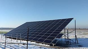 Проектування, монтаж і підключення СЕС 50 кВт с.Дмитрівка 2