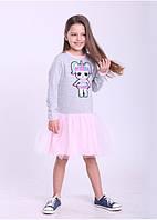 Платье для девочек с куклой Лол