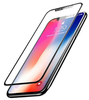 Защитное стекло Remax Gener 3D GL-07 для  iPhone X/XS/11 Pro Black