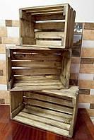 Кашпо деревянный ящик
