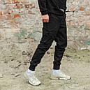 Карго штаны мужские черные, фото 4