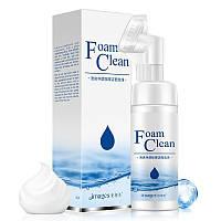 Пенка для лица с щеточкой BioAqua Foam Clean