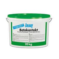 Грунтовка Бетоконтакт, 20 кг Кнауф