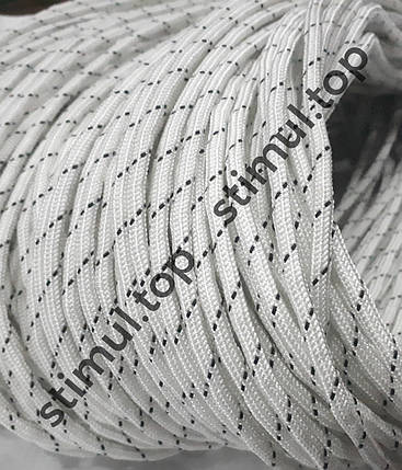 Веревка полиамидная плетеная Ø 8 мм х 100 м х 950 кг ➜ Мотузка капронова статична ➜ Шнур хозяйственный Гродно, фото 2
