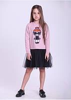 Платье для девочки с куклой Лол