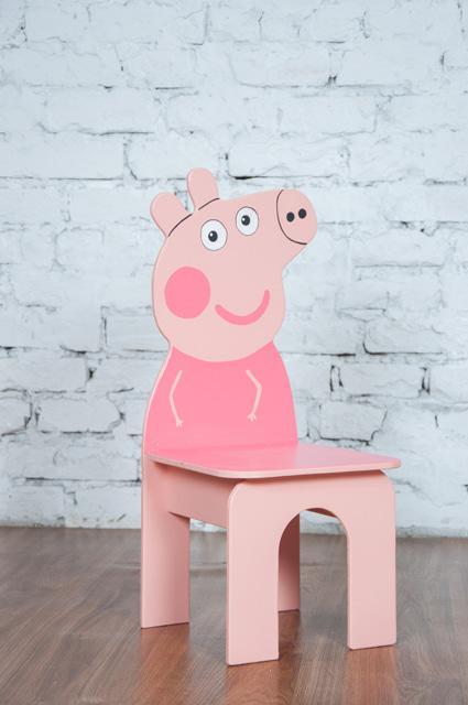 Стул детский Свинка Пеппа (115.09)