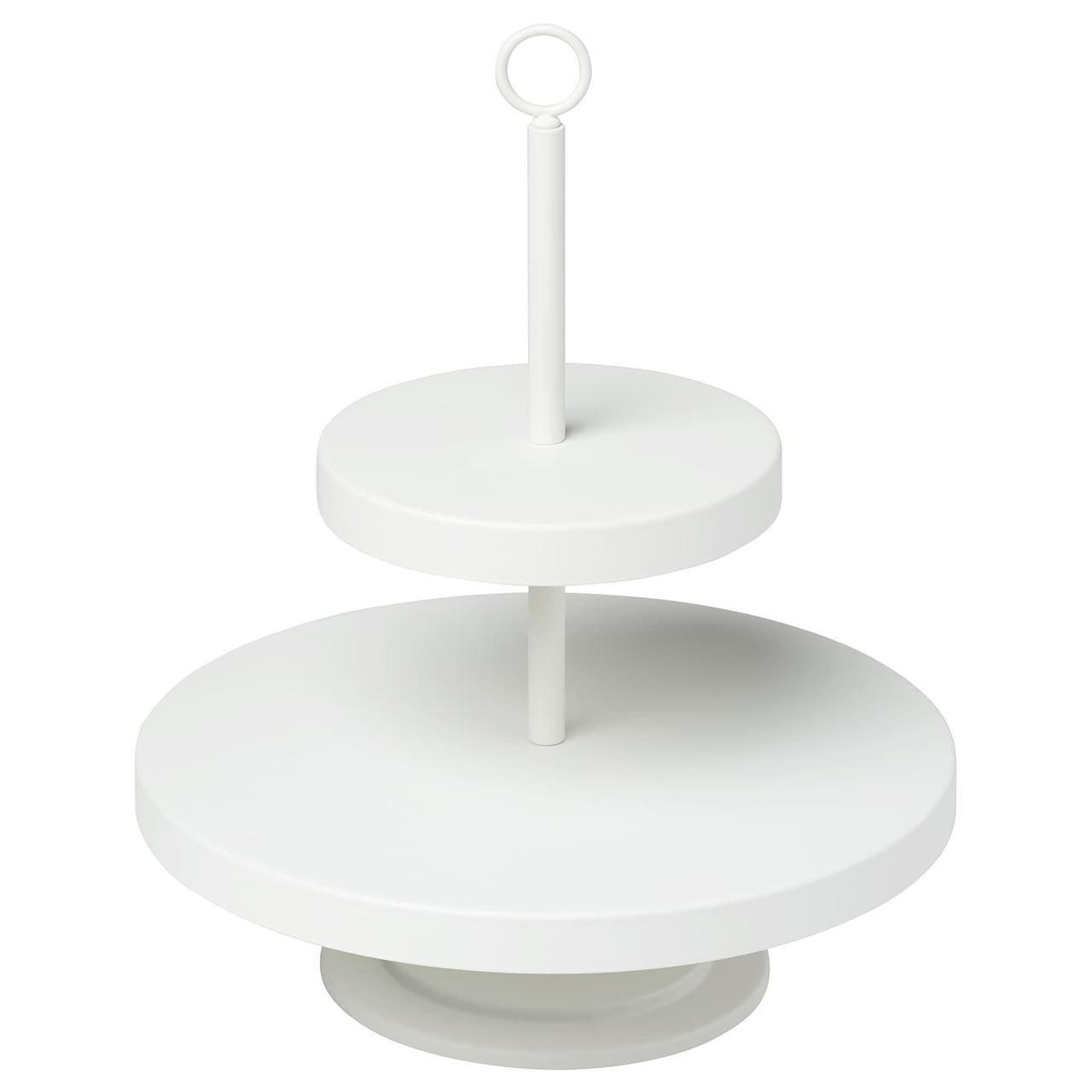 ВИНТЕРФЕСТ Сервировочная подставка, белая, 20432866, ИКЕА, IKEA, VINTERFEST