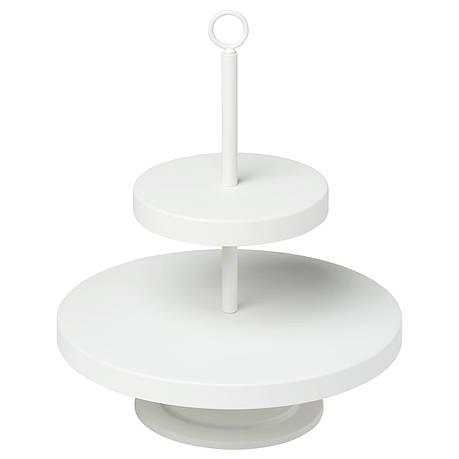 ВИНТЕРФЕСТ Сервировочная подставка, белая, 20432866, ИКЕА, IKEA, VINTERFEST, фото 2