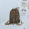 Рюкзак леопардовий принт, фото 5
