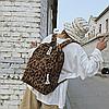 Рюкзак леопардовий принт, фото 4