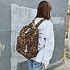 Рюкзак леопардовий принт, фото 3