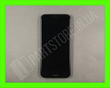 Дисплей Huawei P20 Lite Black (02351XTY) сервисный оригинал в сборе с рамкой, акб и датчиками