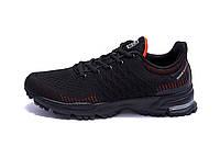 Мужские летние кроссовки сетка BS RUNNING SYSTEM Black, фото 1