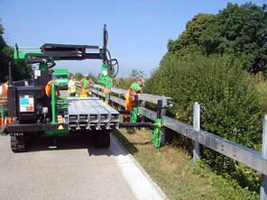 Монтаж барьерного  ограждения, фото 2