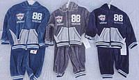 Спортивный костюм для мальчика оптом, 1-3 лет,  № ZOL-15382