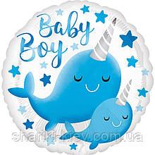 Фольгированный шарик Baby boy