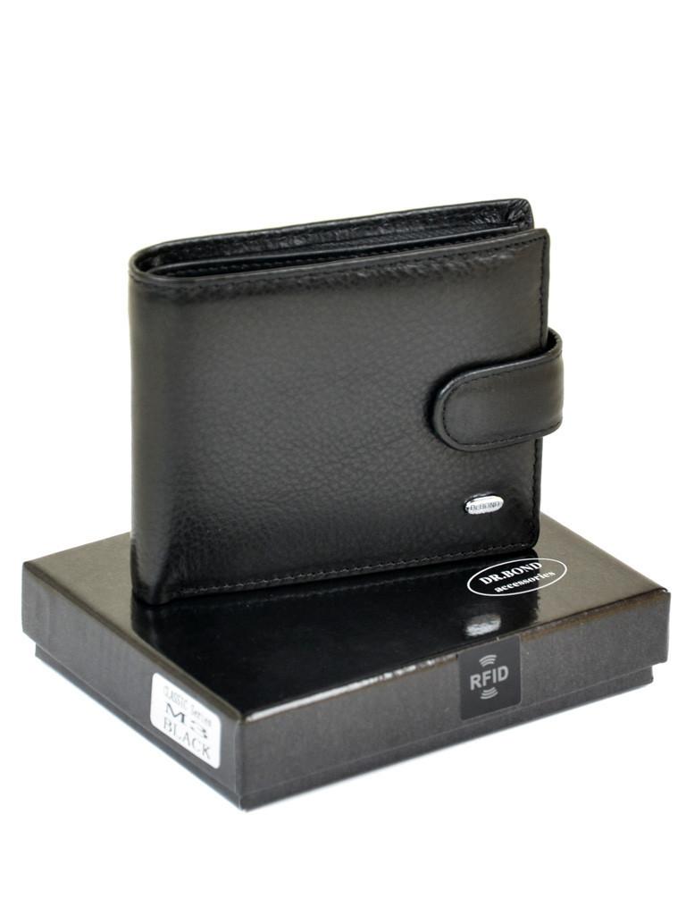 Кошелек Classic кожа DR. BOND RFID M3-1 black