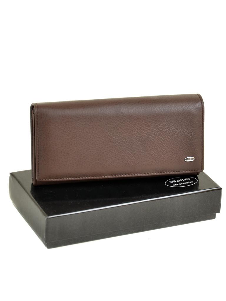 Кошелек Classic кожа DR. BOND W501-2 coffee