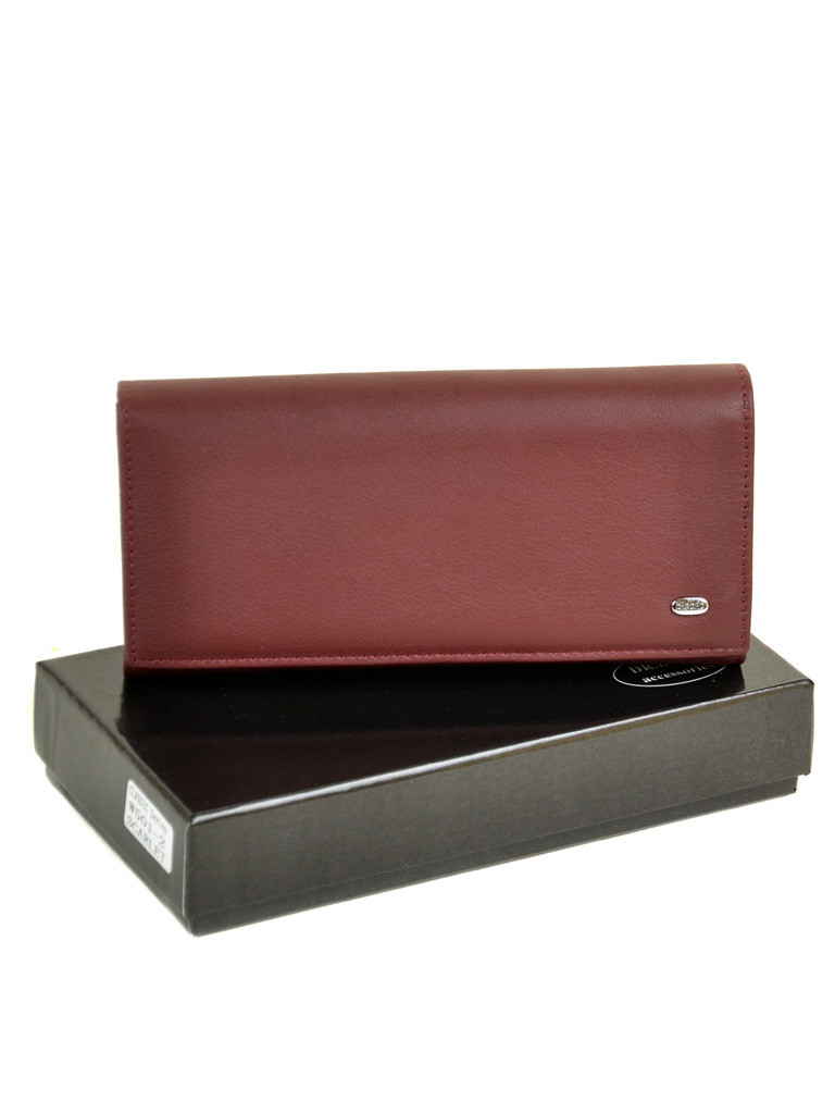 Кошелек Classic кожа DR. BOND W501-2 scarlet
