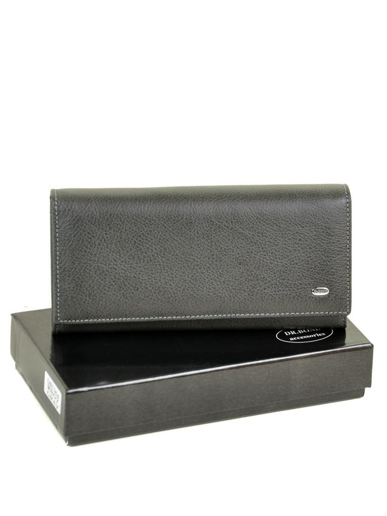 Кошелек Classic кожа DR. BOND W807 grey