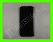 Дисплей Huawei P Smart plus Black (02352BUE) сервисный оригинал в сборе с рамкой, акб и датчиками