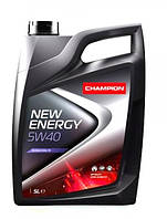 Моторное масло CHAMPION NEW ENERGY 5W40, фото 1