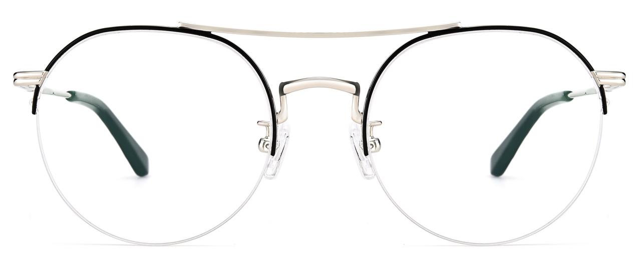 Модна кругла оправа для окулярів (можна вставити лінзи)