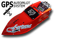 Кораблик для завоза прикормки Фортуна на 15000 мАч с GPS-автопилотом