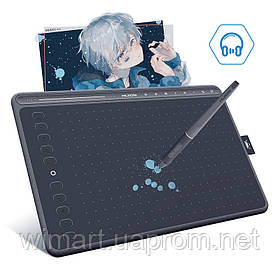 Графический планшет Huion HS611 Space Grey. Starry Blue