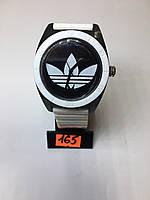 Женские Наручные Часы Спортивные Adidas Черно-Белые