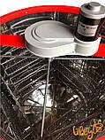 Медогонка 4-х Рамоч. Нержавеющая, Поворотная. Кассеты сварные, окрашены порошковой краской С ЭЛЕКТРОПРИВОДОМ, фото 5