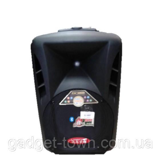 Портативная колонка с микрофонами Langting SL1007 (120W/USB/Bt/Fm)
