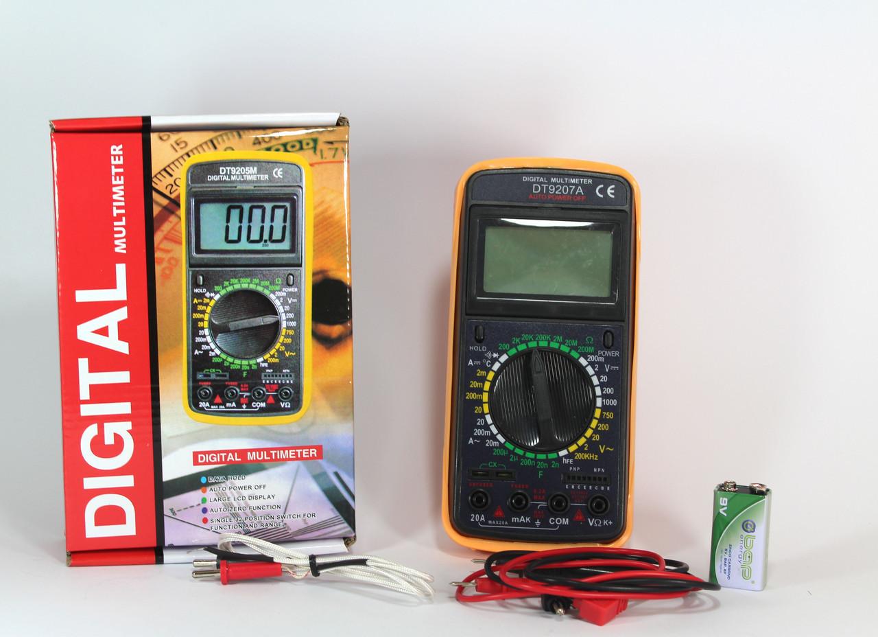 Мультиметр DT 9207A  40