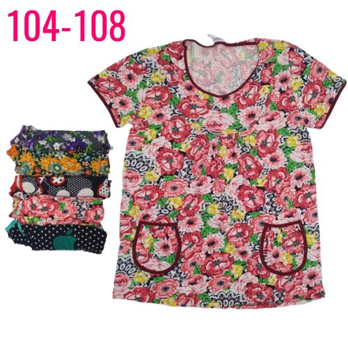 Туника женская трикотаж 104-108р Украина ТОЖ-360029