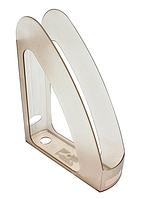 Лоток для бумаг вертикальный Радуга 80535 с перегородкой