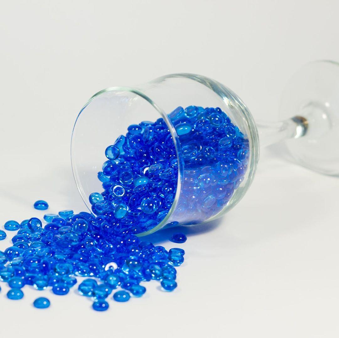 Фишболы (через цей акваріум), сині від 25 грам