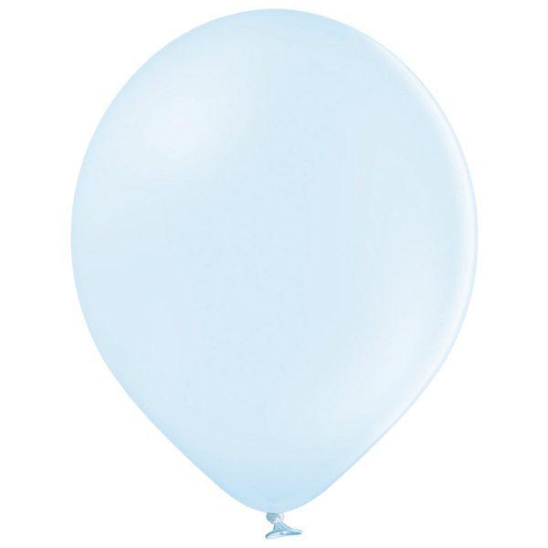 """Латексна кулька макарун блакитний пастель В105/449/ 12"""" Belbal"""