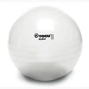 Мяч для фитнеса Togu 65 см до 500 кг нагрузка разные цвета