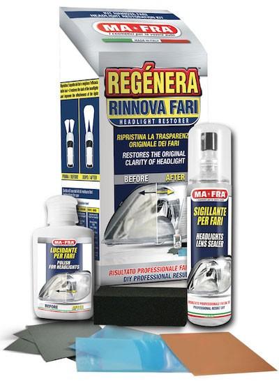 Набор для восстановления и защиты фар MA-FRA Regenera
