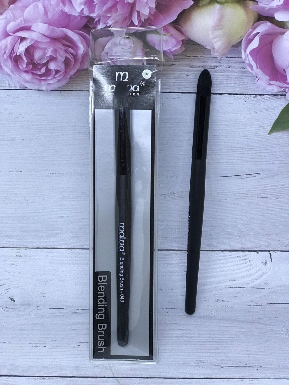 Кисть для растушевки Malva Cosmetics Blending Brush 043